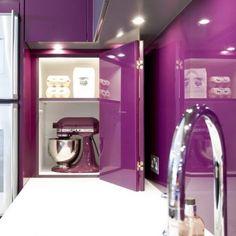 38 Smart Concealed Kitchen Storage Spaces | DigsDigs