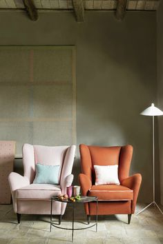 """Élitis """"Flanelle"""" collection. With its outstanding technical properties, naturally fire-retardant for upholstery use and a very good Martindale, this wool flannel offers exquisite softness in a palette of deep colours and mottled material. #Elitis #Fabric #Upholstery"""
