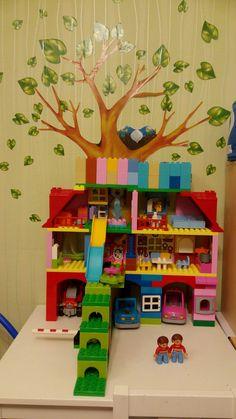 Дом с гаражом Lego Duplo