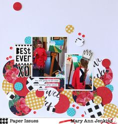 Best Ever by @maryannjenkins for the June Scrap Soup challenge at @paperissuesteam - maryannjenkins.com