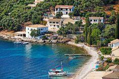Kalami Photograph - Kalami Village At Corfu - Greece by Constantinos Iliopoulos