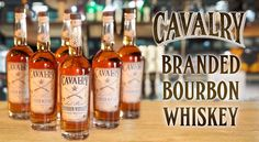 Cavalry Bourbon Whiskey is more than just fine spirits, it is spirit itself.