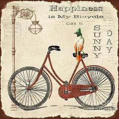 I uploaded new artwork to plout-gallery.artistwebsites.com! - 'Happiness is my Bicycle' - http://plout-gallery.artistwebsites.com/featured/happiness-is-my-bicycle-jean-plout.html via @fineartamerica