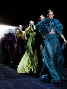 Gucci, Fall 2011; photo by Scott Schuman