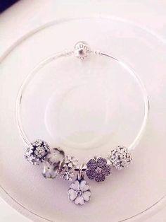 50% OFF!!! $179 Pandora Charm Bracelet. Hot Sale!!! SKU: CB01436 - PANDORA Bracelet Ideas
