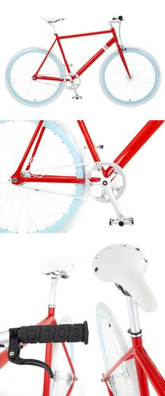 97145554c1af Red + sky blue bicycle Cycling Tips