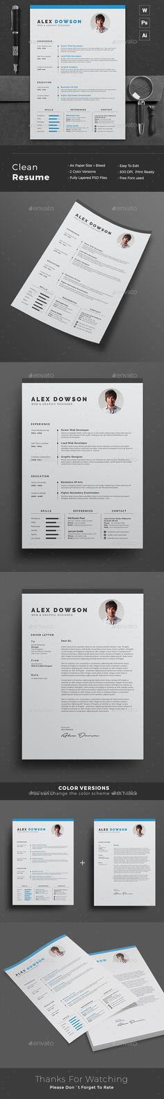 Resume - Resumes #Stationery Download here https\/\/graphicriver - net resume