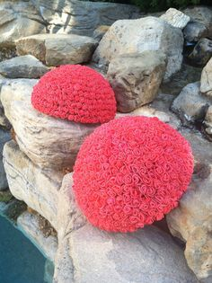 Outdoor Wedding Pool Decorations Coral by babybaharcollection, $75.00