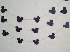 Mickey Mouse Garland/Banner Bridal Shower by eyepoppingcreations