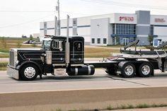 Big Rig Trucks, Semi Trucks, Cool Trucks, Peterbilt 359, Peterbilt Trucks, Custom Big Rigs, Custom Trucks, Rolling Coal, Trailers