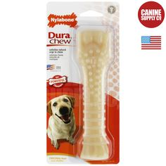 Dura Chew Bone + Original Flavor Dog Chew Toys - All Sizes