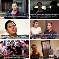 Aw carlos loves his brothers:) <3 I absolutely love the middle one on the right :)