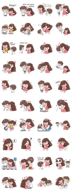 line Animation only icon Khing Khing Dook Dik (ENG) Boobib Cute Couples ( For Girl ) Animation only icon Brown & Cony's Heart-Throbbing Love Love Drawings Couple, Love Cartoon Couple, Couple Sketch, Cute Cartoon Pictures, Cute Love Cartoons, Cute Couple Art, Cute Drawings, Cute Couples, Oblyvian Girls