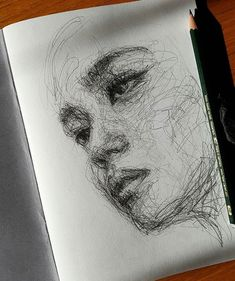 Stunning drawings by What do you think about her technique? What's your favorite one? Stunning drawings by What do you think about her technique? What's your favorite one? Pencil Art Drawings, Art Drawings Sketches, Realistic Drawings, Cool Drawings, Scribble Art, Arte Sketchbook, Wow Art, Art Inspo, Line Art