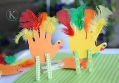 kid's turkey crafts