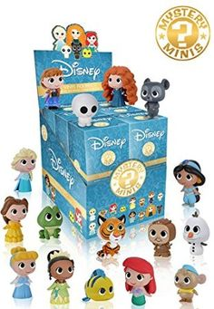2016 Funko Disney Princesses The Little Mermaid Aladdin Frozen Mystery Minis Vinyl Figures Single Blind Box Mystery Character Chance Of Rare 1 in 72 1 Blind Box new factory Sealed with plastic 1 pcs per purchase Funko Mystery Minis, Action Toys, Action Figures, Disney Stockings, Box Surprise, Stocking Stuffers For Girls, Disney Frozen 2, Disney Disney, Disney Stuff