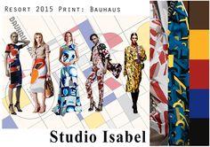 Resort 2015 Trend Board - Designed by myself  (Samantha Chorley) for Studio Isabel