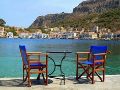 by DimitriS Photography on Flickr.    Summer view of Kastellorizo, near Rhodes Islands, Greece.