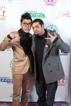 Mondo Guerra and Michael Costello at Mondo's All Star Thursdays at the Beauty Bar Denver.