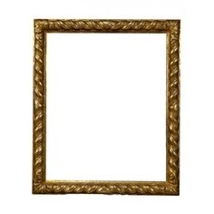 "Wooden gold frame ""Tortile"" - Luxurious frame perfect to enhance the beauty of pictures and paintings. Available in different sizes!"