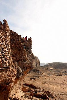 Sahara Ba Hallou, een verlaten dorp in de woestijn. Lees verder op mijn blog