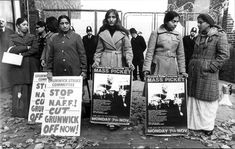 Grunwick protest Dollis Hill London...Dad was so full of these ladies and how they fought for their beliefs. Proud!