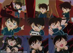 Detective Conan: Baby Shinichi - so cute!
