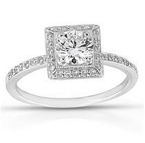 .72 ct. t.w. Round Diamond Ring (F, VS2)