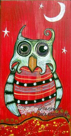 Owl night  by Sara Rodighiero