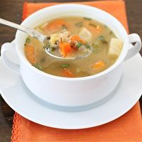 Vegetable Confetti Soup by Two Peas & Their Pod