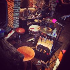 Cozy set up at the Doghouse in Norwich 21.12.2014