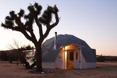 Dome in the Desert: Escape to Joshua Tree