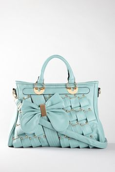 Pleated Bow Tote