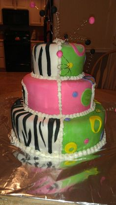 Divided cake for twins