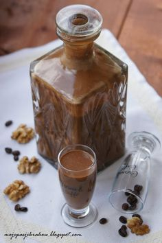 moje pasje: Likier karmelowo-kakaowo-kawowy z nutką orzecha