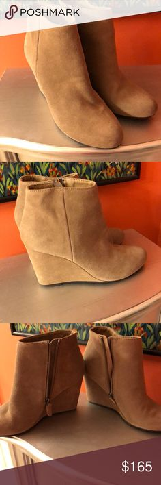 New price!!! Anthropology shoes. Size 8 Never worn.  So good!!! Anthropologie Shoes Heeled Boots