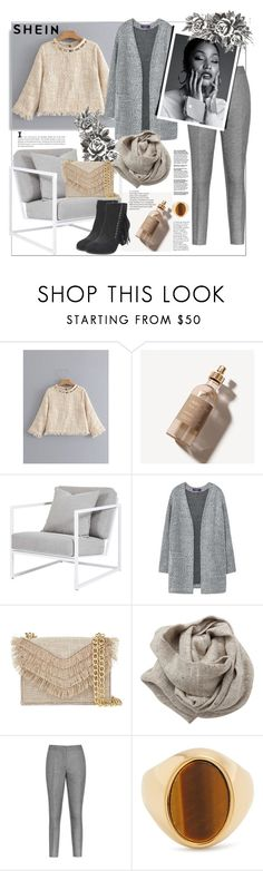 """Shein"" by natalyapril1976 on Polyvore featuring Mode, Burberry, MANGO, Cynthia Rowley, Brunello Cucinelli, Reiss, Chloé und Nicki Minaj"