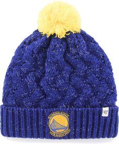3f9ae4d8dfb  47 Women s Golden State Warriors Fiona Knit Hat. Knit BeanieBeanie  HatsBeaniesLos Angeles LakersPurple ...