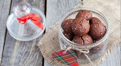 Итальянское шоколадное печенье с орехами