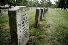 Gettysburg National Cemetery, Gettysburg, PA.  Numerous ghosts here just like at the battlefield.
