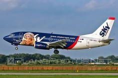 Sky Europe Boeing B737-500 (Tatiana)