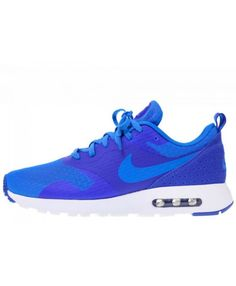 online store 6eed6 192bb Homme Nike Air Max Tavas Essential Photo Bleu Jeu Royal Bleu-Blanche 725073  400 Chaussures