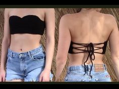 DIY Sunday - Crochet Bralette Crop Top With Shell Pattern - YouTube