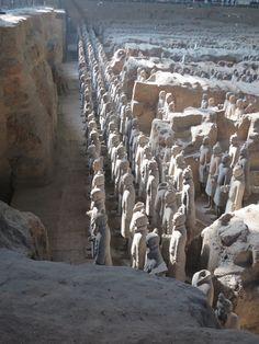 Terracotta leger (Xian, China) 2014