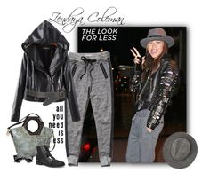 """""""Look for Less: Zendaya Style"""" by ysmn-pan ❤ liked on Polyvore featuring Abercrombie & Fitch, Chan Luu, MANGO, Nino Bossi Handbags, LookForLess and contest"""