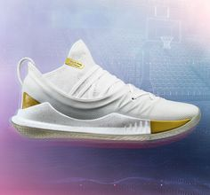 new arrival 721d8 c684a Curry 5 UA Takeover Edition 2 1 Curry 5, Curry Shoes, Gold Sneakers, Stephen
