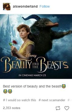 THERE's GOING TO BE A SEQUEL! IT's CALLED BEAUTY AND LORD VOLDEMORT! TRAILER IS ON YOUTUBE!