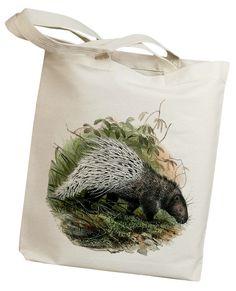 He encontrado este interesante anuncio de Etsy en https://www.etsy.com/es/listing/107134366/porcupine-vintage-eco-friendly-canvas