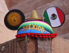 Disney Ear Hats inspired by Mexico.