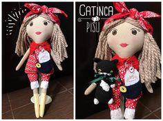 "26 aprecieri, 2 comentarii - Mushurush dolls & crafts (@mushurush_dolls_and_craft) pe Instagram: ""Made a cat pet for this girl! 🐈👧🏻 #fabricdoll #fabrictoy #softtoy #nurserydecor #babygift…"""